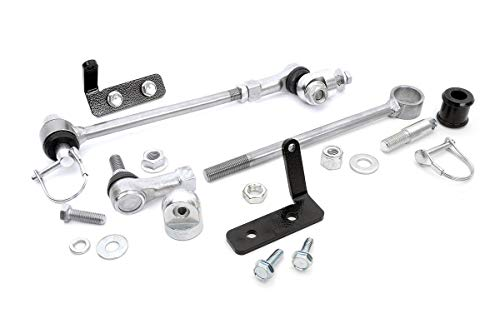 rough country 1128 front sway bar quick disconnects for 4