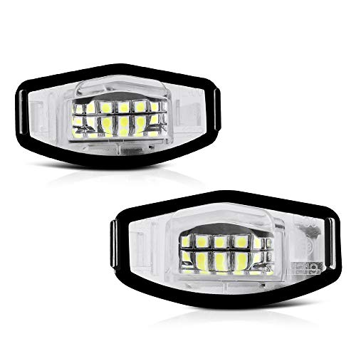12x 6000K White Premium LED Interior Lights Package Kit